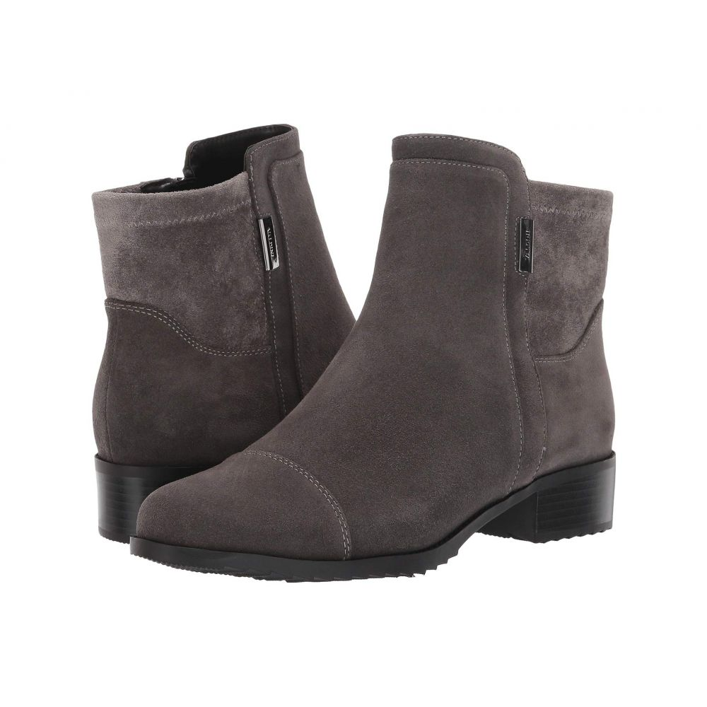 最新作の VALDINI レディース ブーツ シューズ・靴【Mick Waterproof Boot】Grey Suede, 東村 70474de5