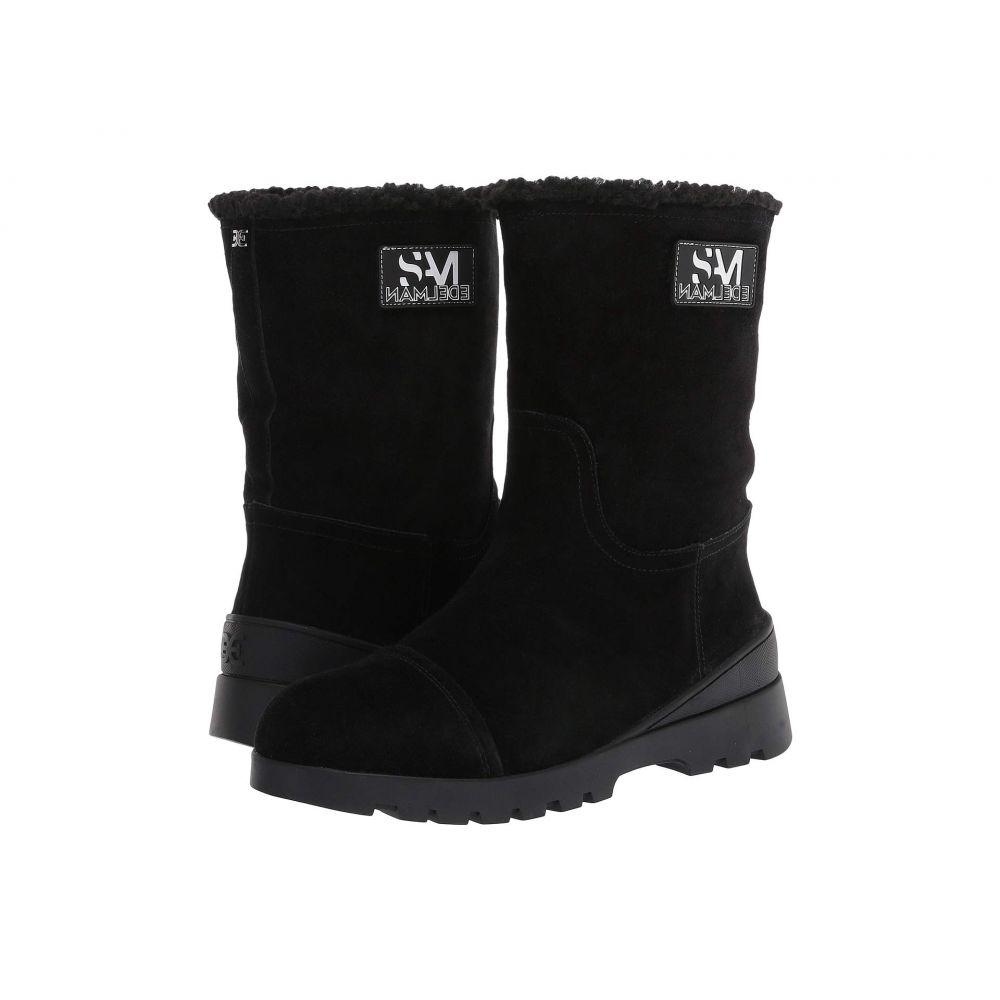 サム エデルマン Sam Edelman レディース ブーツ シューズ・靴【Kaylie】Black/Black Wr Velour Suede Leather/Faux Shearling