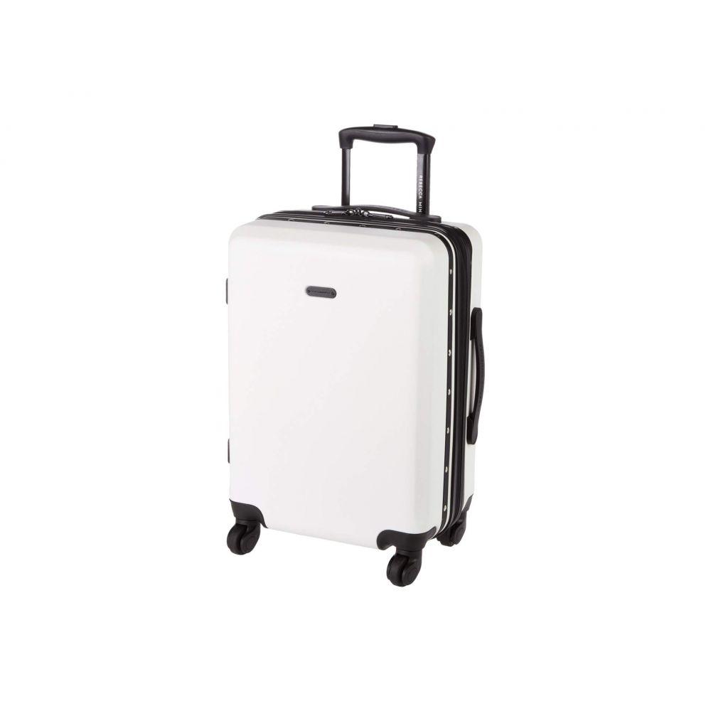 レベッカ ミンコフ Rebecca Minkoff ユニセックス スーツケース・キャリーバッグ バッグ【Stud Carry-Over】White