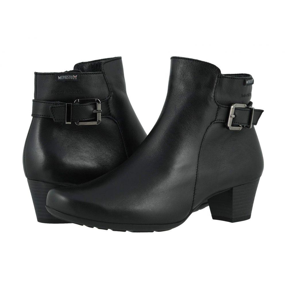 メフィスト Mephisto レディース ブーツ シューズ・靴【Marilia】Black Cigalia