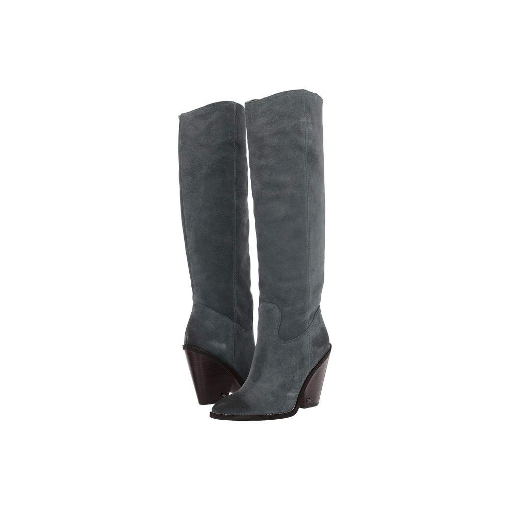 サム エデルマン Sam Edelman レディース ブーツ シューズ・靴【Indigo】Grey Iris Velutto Suede Leather