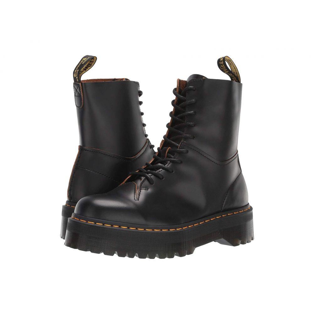 ドクターマーチン Dr. Martens レディース ブーツ シューズ・靴【Jadon Decon】Black Vintage Smooth