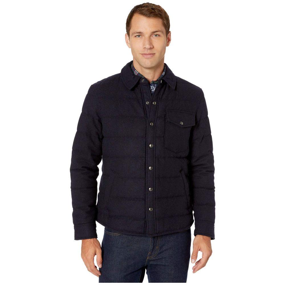 ラルフ ローレン Polo Ralph Lauren メンズ ジャケット シャツジャケット アウター【Glen Plaid Down Shirt Jacket】Navy Twill