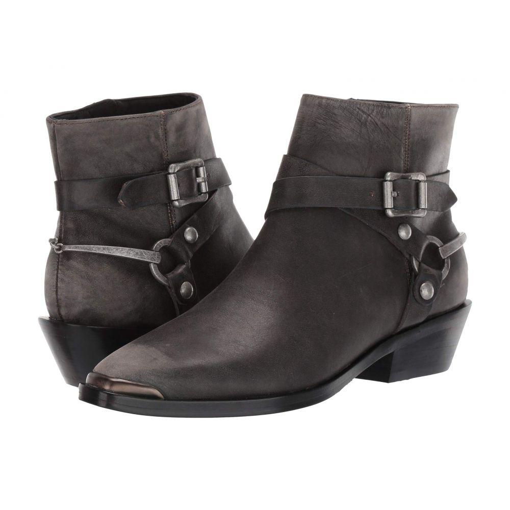 シガーソン モリソン Sigerson Morrison レディース ブーツ シューズ・靴【Jade】Dark Gray Distressed Leather
