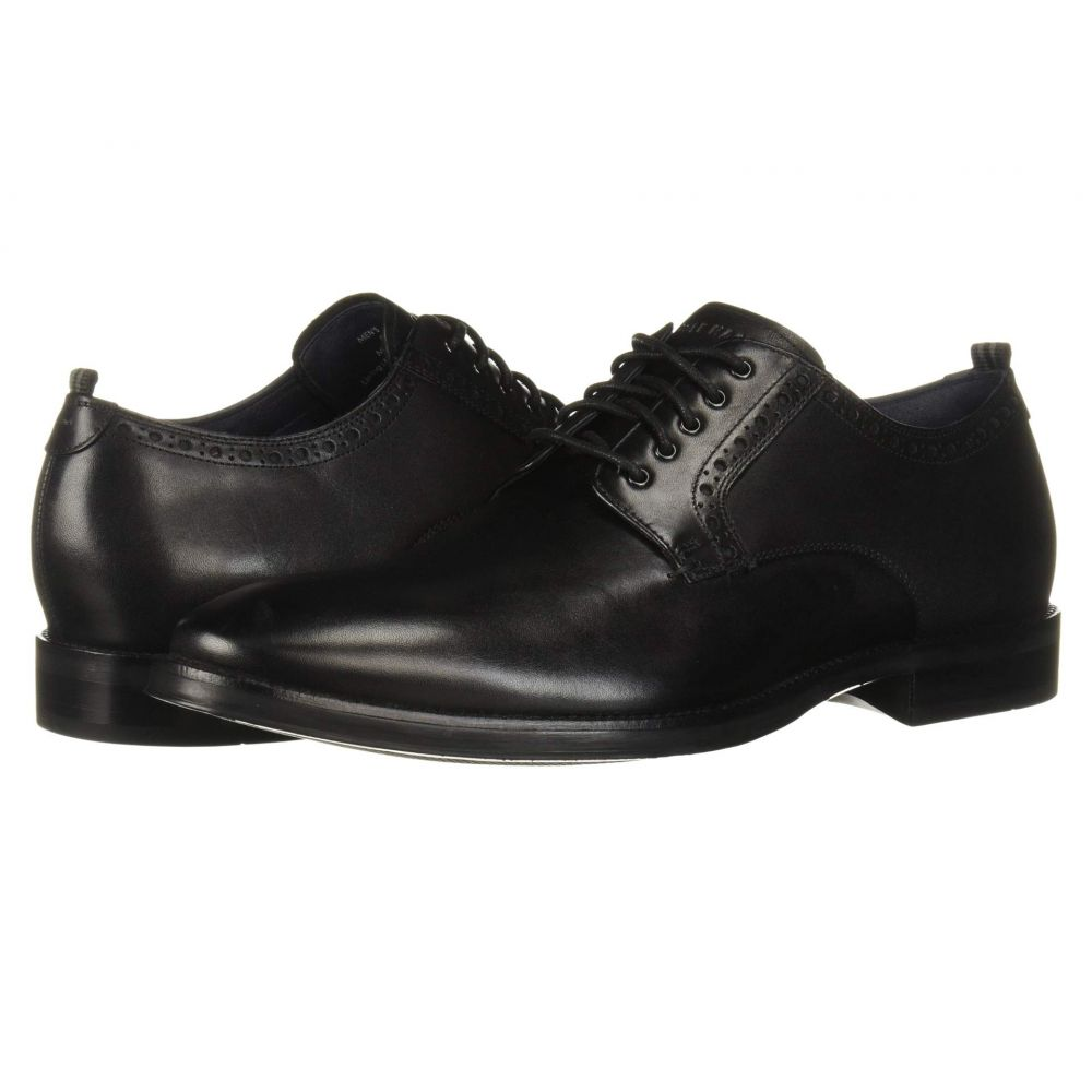 コールハーン Cole Haan メンズ 革靴・ビジネスシューズ シューズ・靴【Jefferson Grand 2.0 Plain Oxford】Black Waterproof