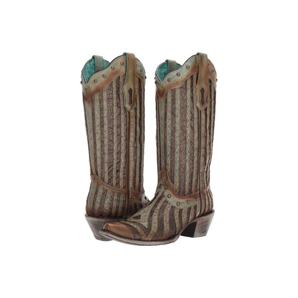 コラル Corral Boots レディース ブーツ シューズ・靴【A3857】Turquoise