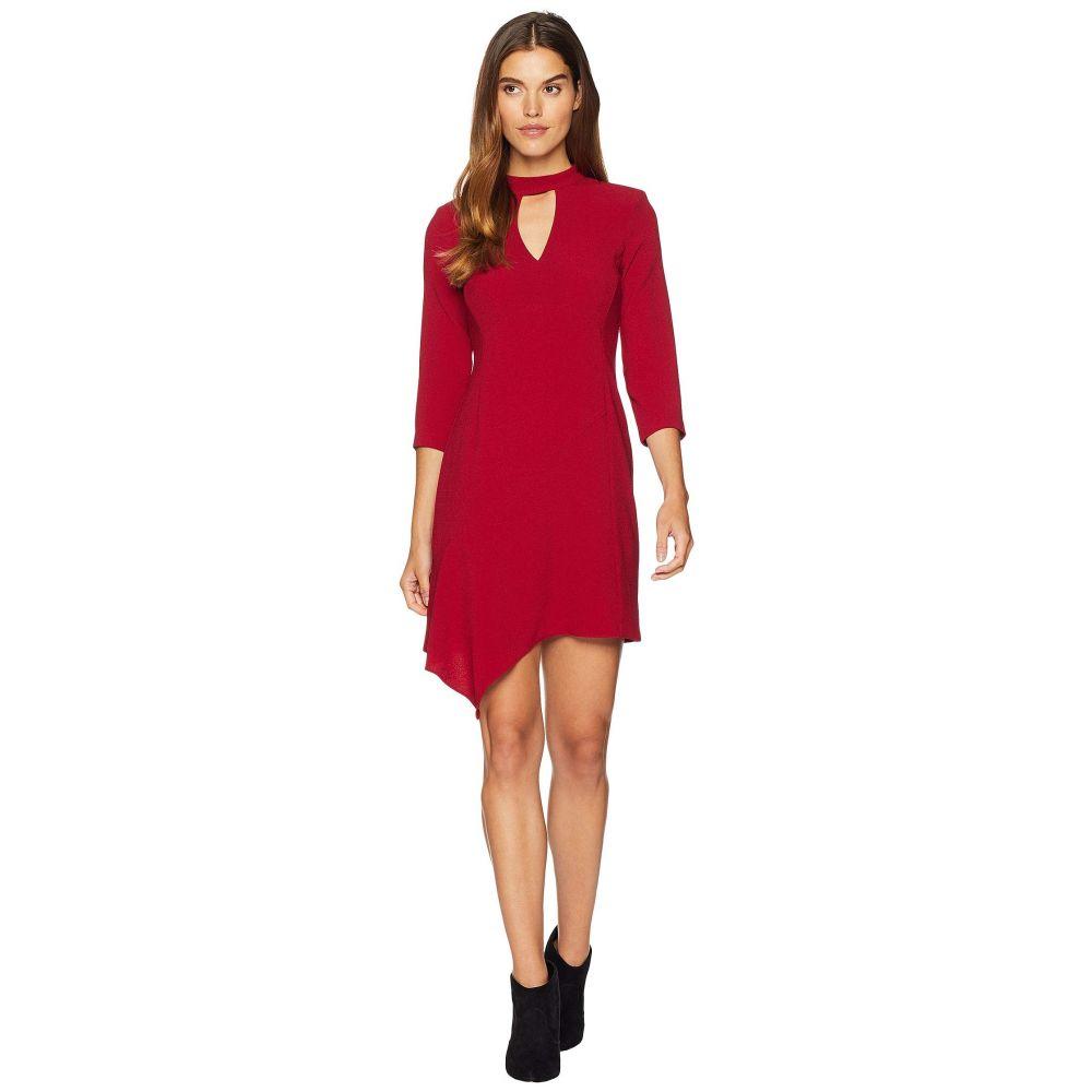 ナネット レポー Nanette Lepore レディース ワンピース ワンピース・ドレス【Heartthrob Crepe Dress】Ruby