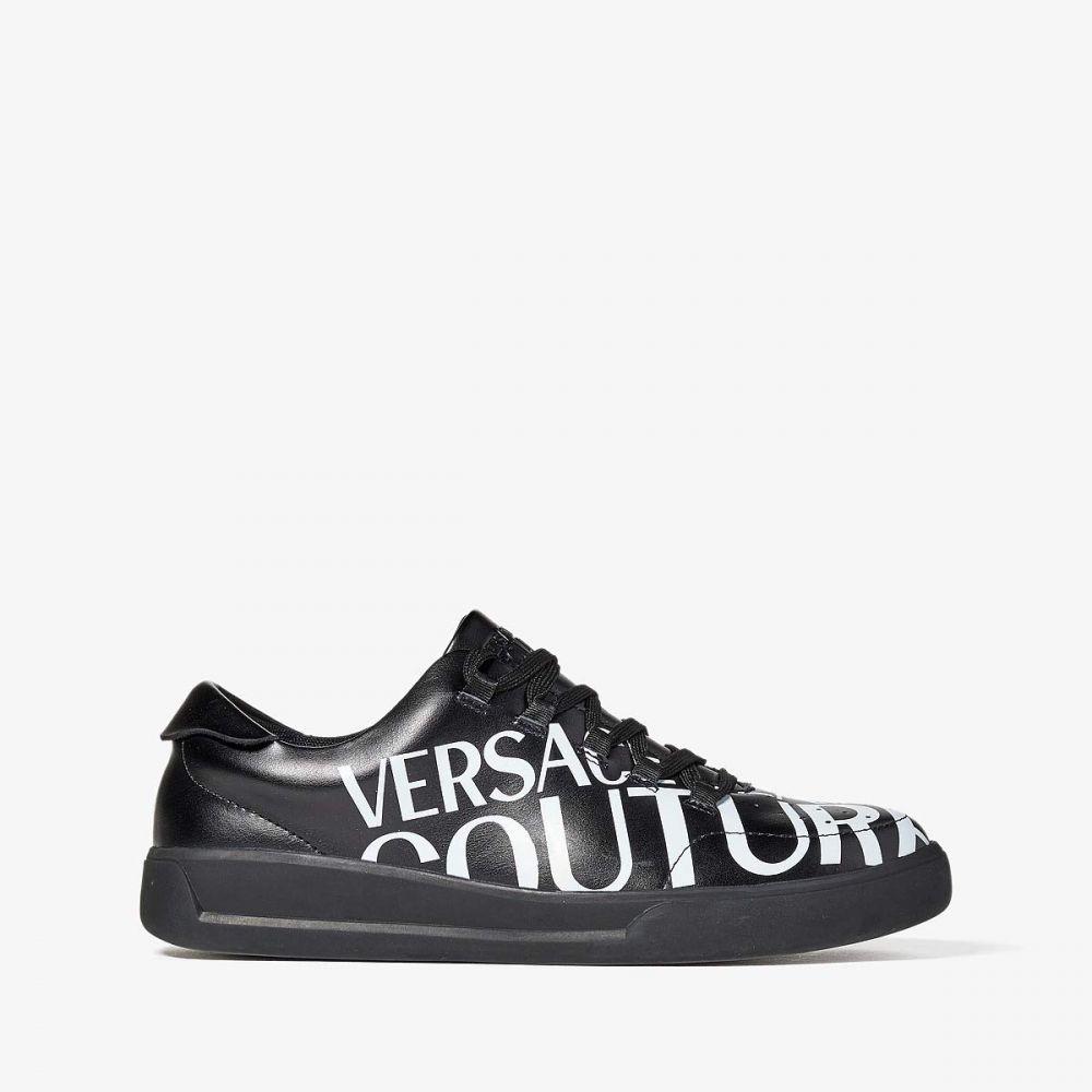 ヴェルサーチ Versace Jeans Couture メンズ スニーカー ローカット シューズ・靴【Bold Logo Low Top Sneaker】Black
