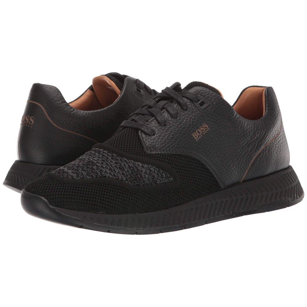 ヒューゴ ボス BOSS Hugo Boss メンズ スニーカー シューズ・靴【Titanium Run Sneakers by BOSS】Black