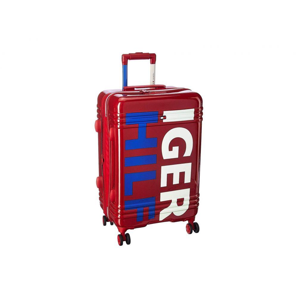 トミー ヒルフィガー Tommy Hilfiger ユニセックス スーツケース・キャリーバッグ バッグ【Mondo 28 Upright】Red