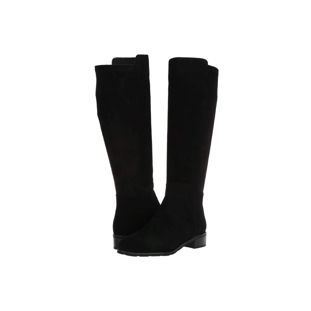 VALDINI レディース ブーツ シューズ・靴【Bety Waterproof Boot】Black Suede/Stretch