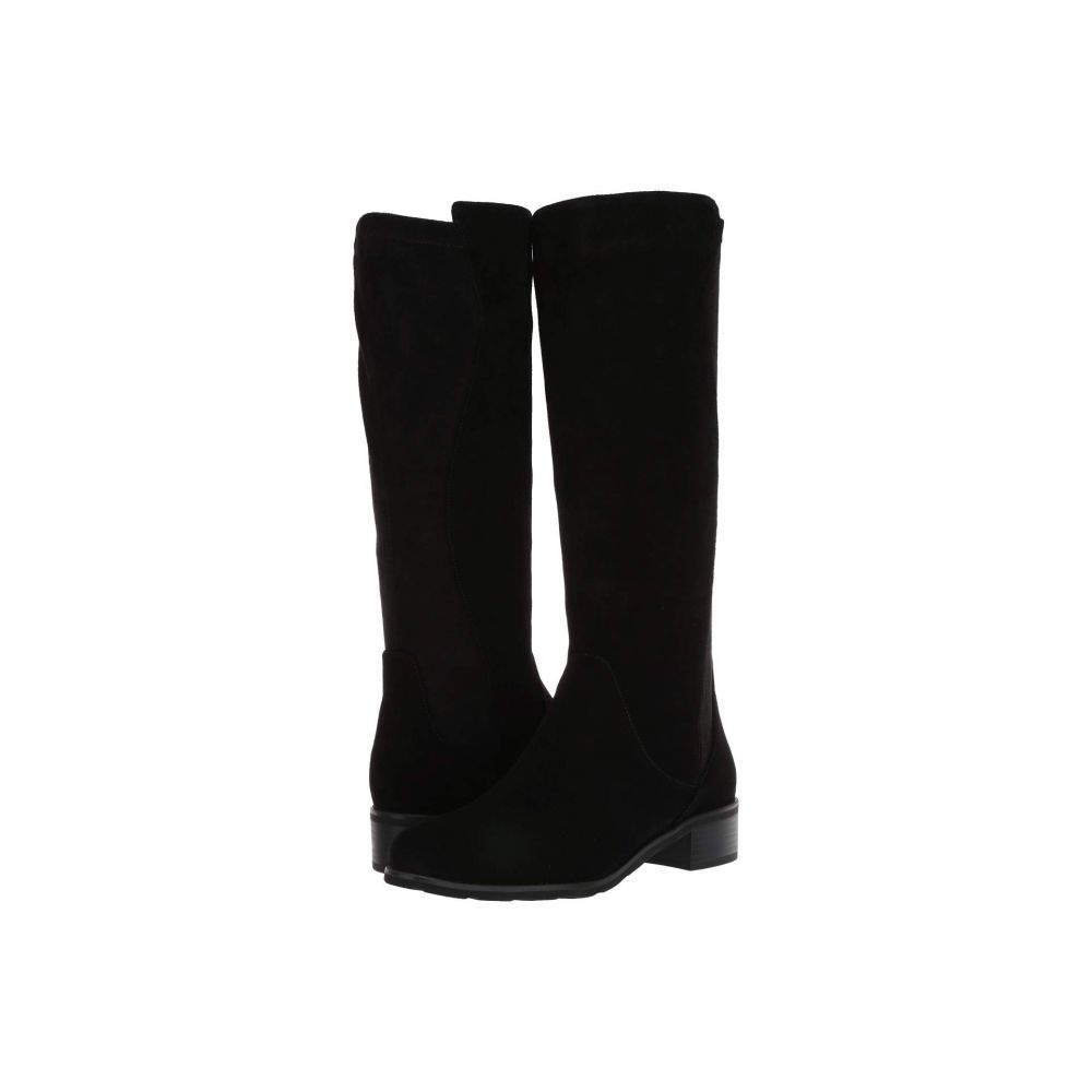 VALDINI レディース ブーツ シューズ・靴【Buria Waterproof Boot】Black Suede/Stretch