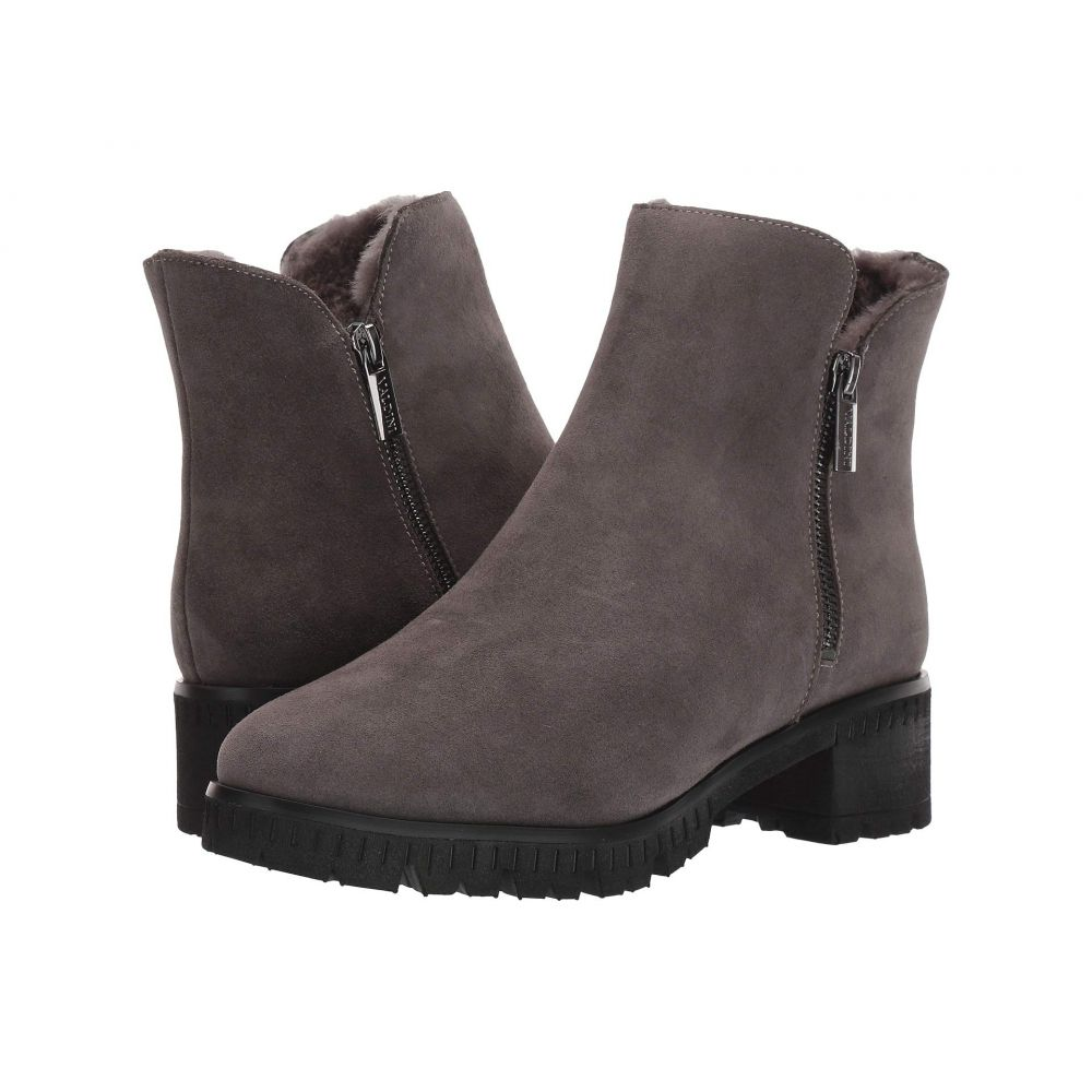 VALDINI レディース ブーツ シューズ・靴【Ivory Waterproof Boot】Grey Suede
