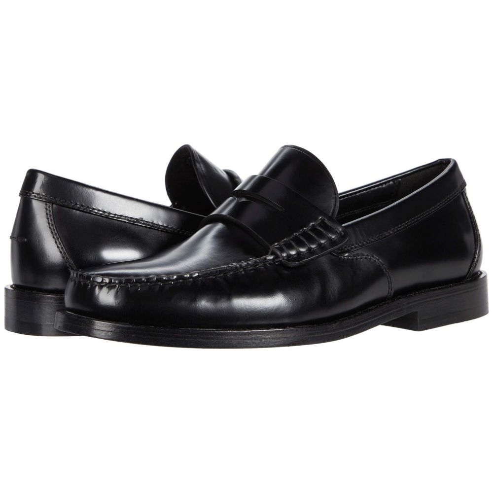 コーチ COACH メンズ ローファー シューズ・靴【Spazzolato Manhattan Leather Loafer】Black Leather