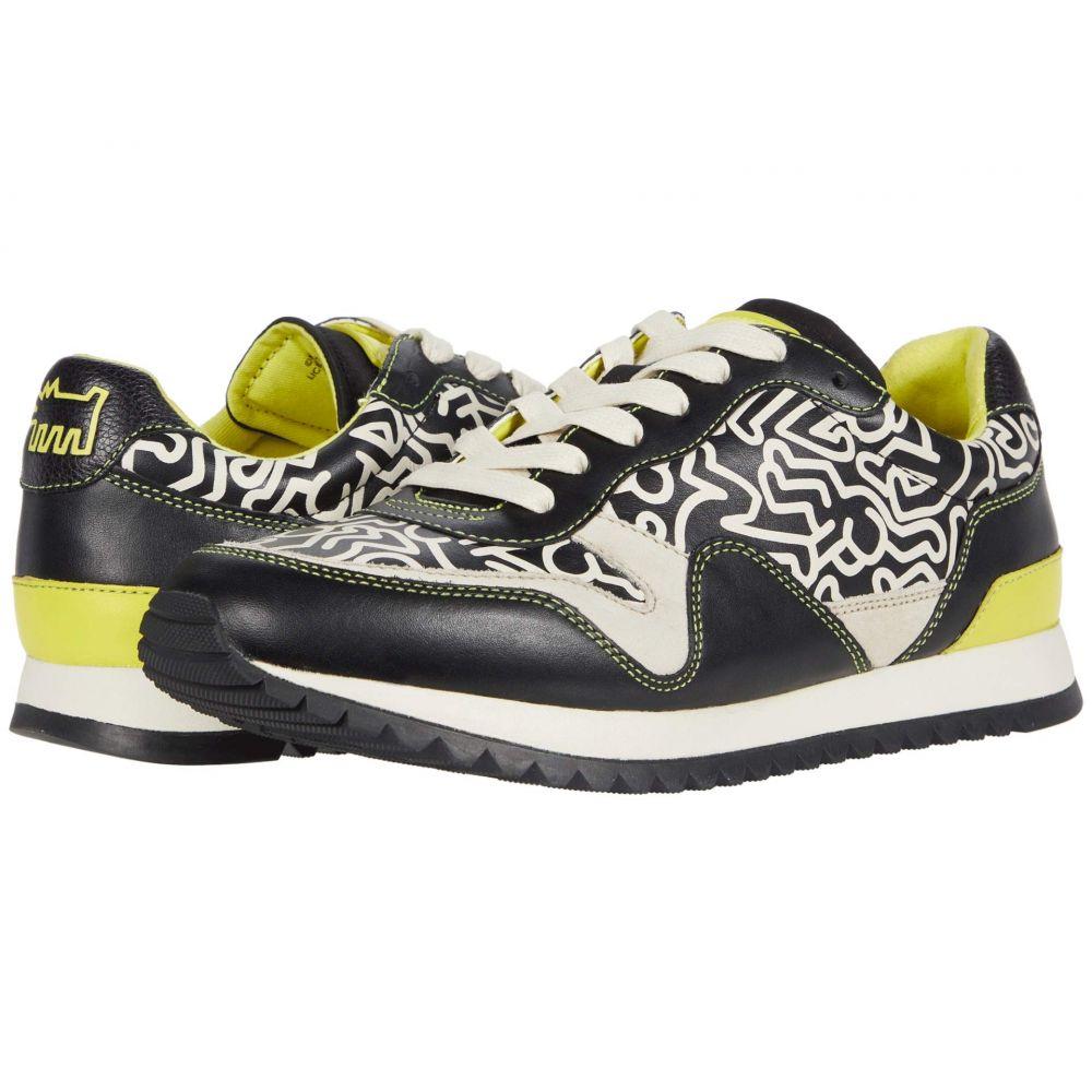 コーチ COACH メンズ スニーカー シューズ・靴【Carter Runner】Black/Bright Yellow