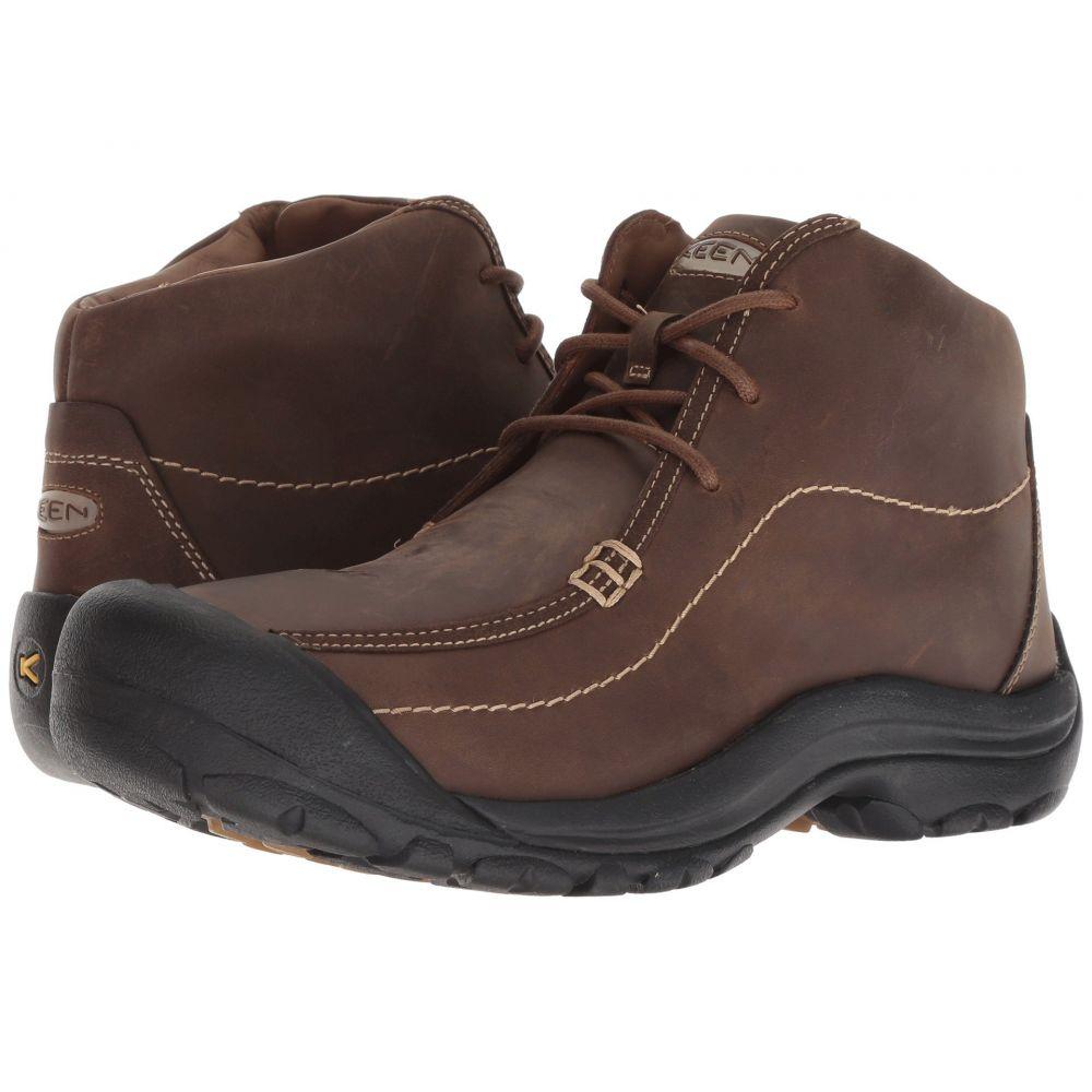 キーン Keen メンズ ブーツ チャッカブーツ シューズ・靴【Portsmouth Chukka】Dark Earth