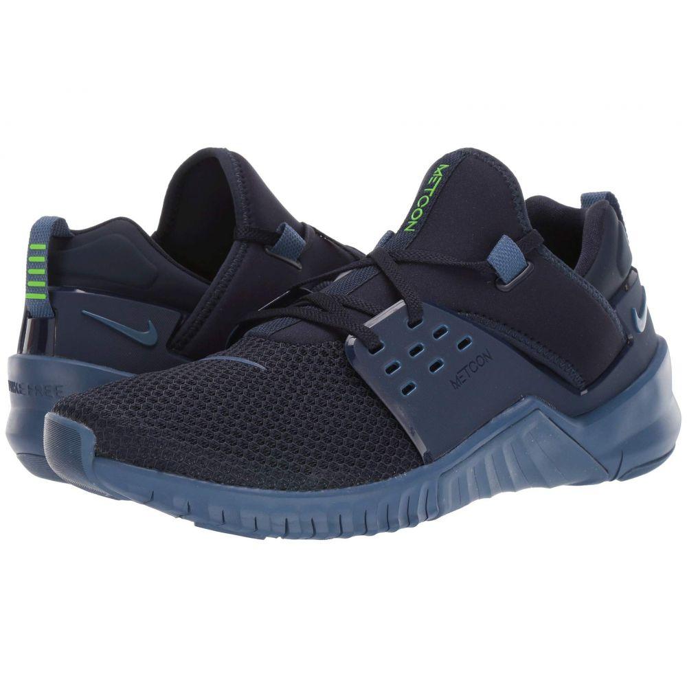 ナイキ Nike メンズ スニーカー シューズ・靴【Free X Metcon 2】Obsidian/Electric Green/Mystic Navy