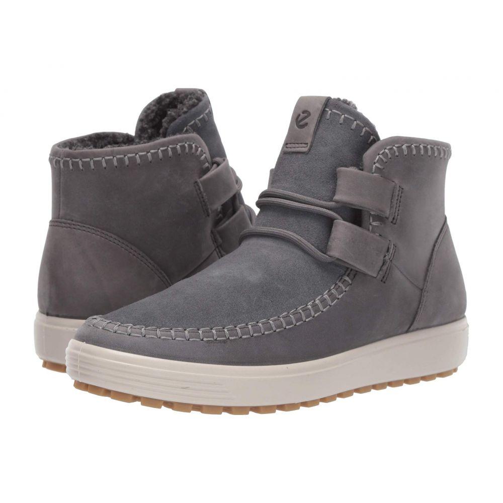エコー ECCO レディース ブーツ ショートブーツ シューズ・靴【Soft 7 Tred Ankle Boot】Titanium/Titanium