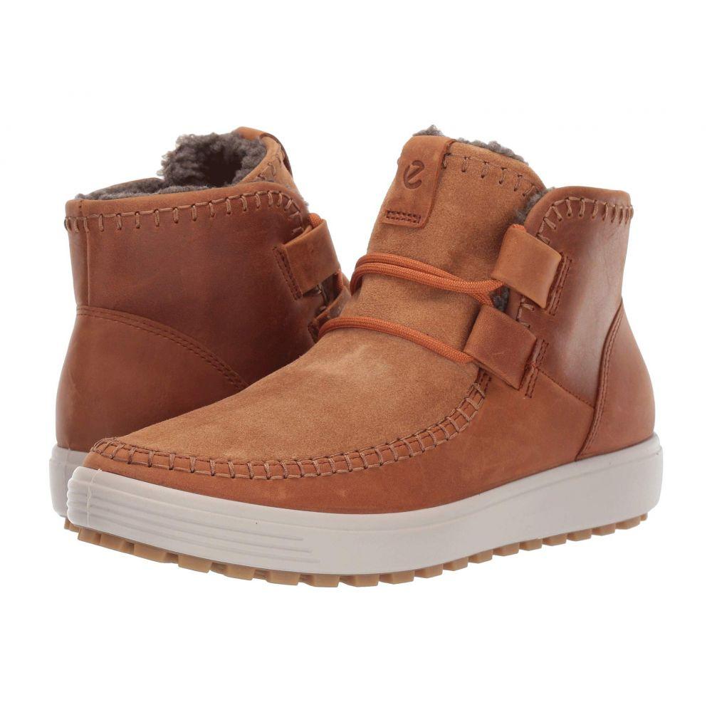 エコー ECCO レディース ブーツ ショートブーツ シューズ・靴【Soft 7 Tred Ankle Boot】Amber/Amber
