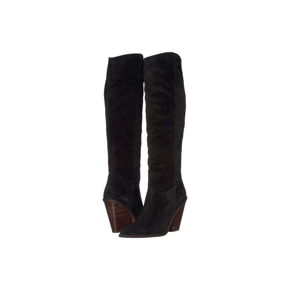 サム エデルマン Sam Edelman レディース ブーツ シューズ・靴【Indigo】Black Velutto Suede Leather