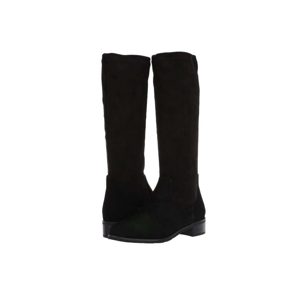 VALDINI レディース ブーツ シューズ・靴【Blink Waterproof Boot】Black Suede/Stretch