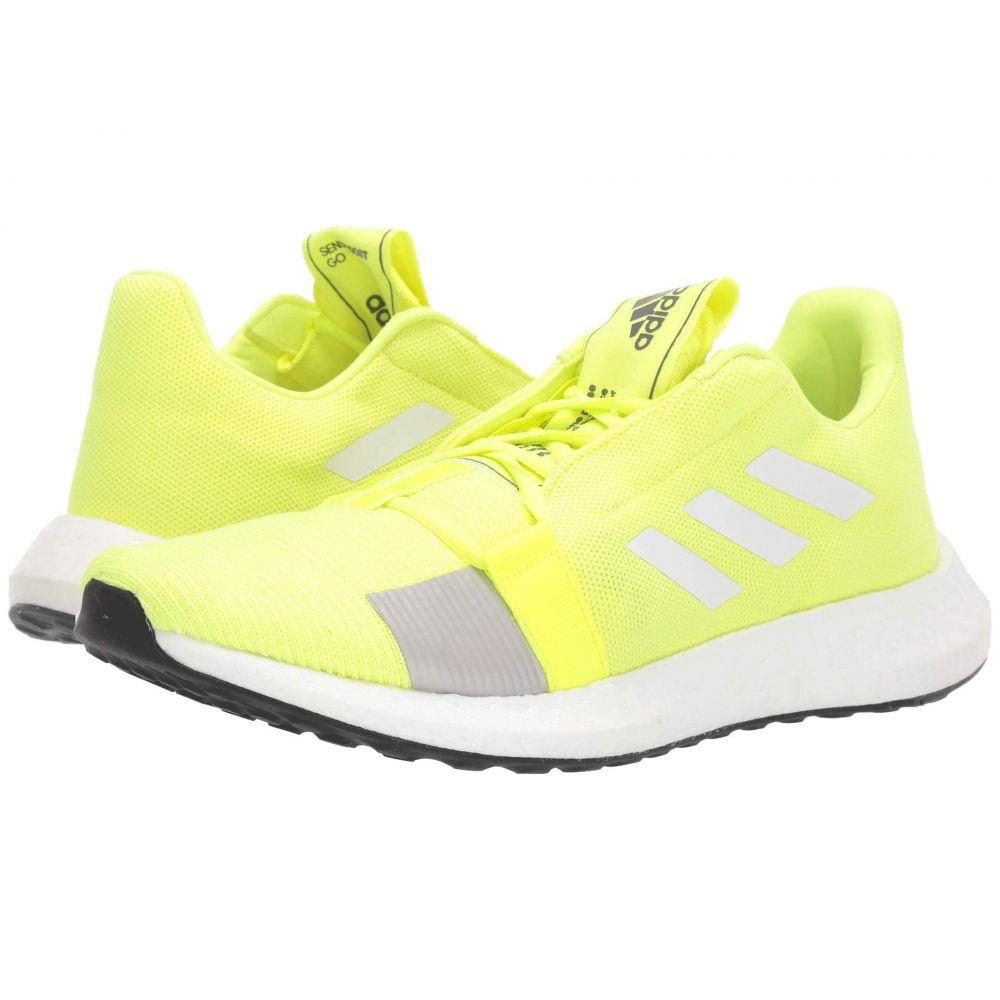 アディダス adidas Running メンズ ランニング・ウォーキング シューズ・靴【SenseBOOST GO】Solar Yellow/Footwear White/Grey Six