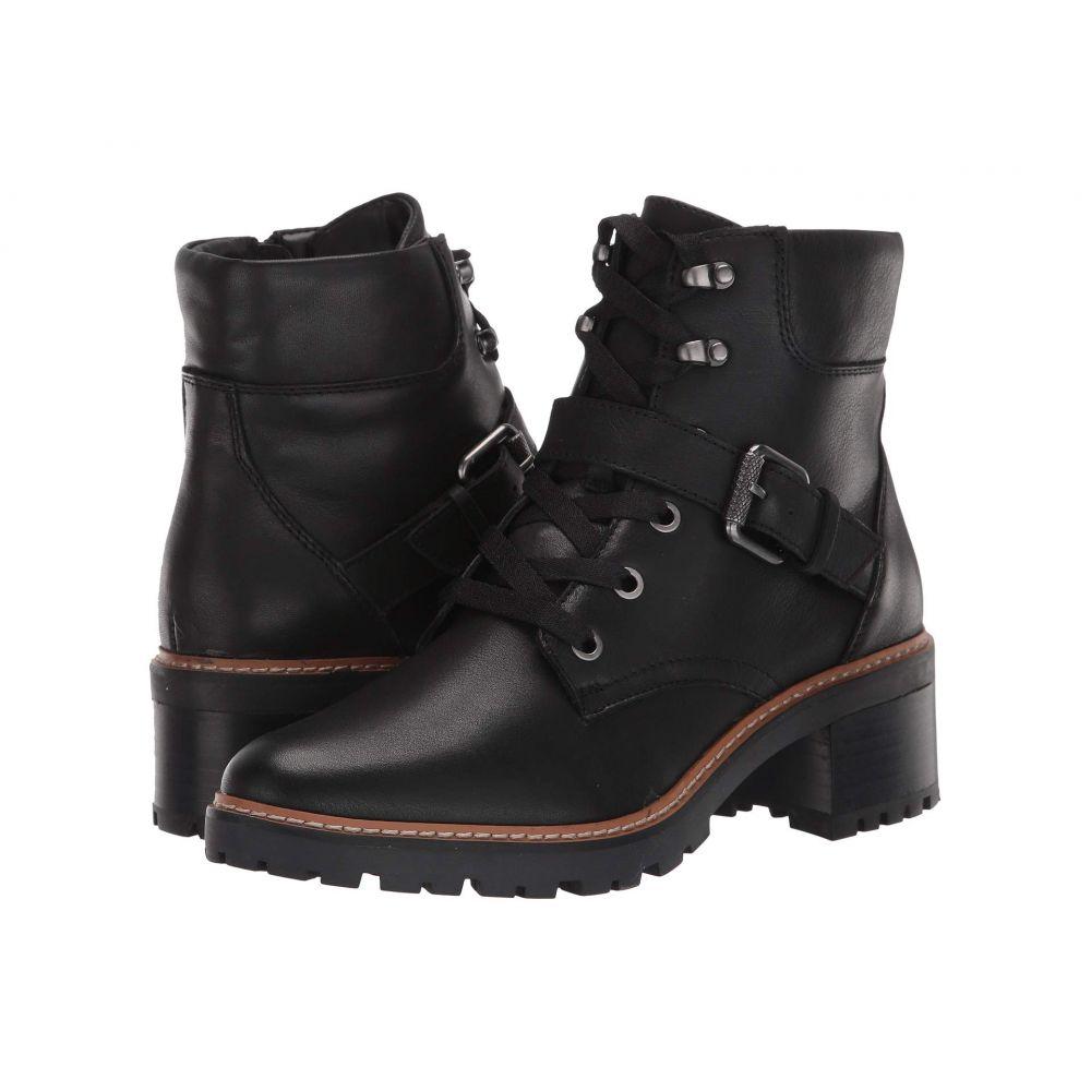ナチュラライザー Naturalizer レディース ブーツ シューズ・靴【Tia】Black Leather