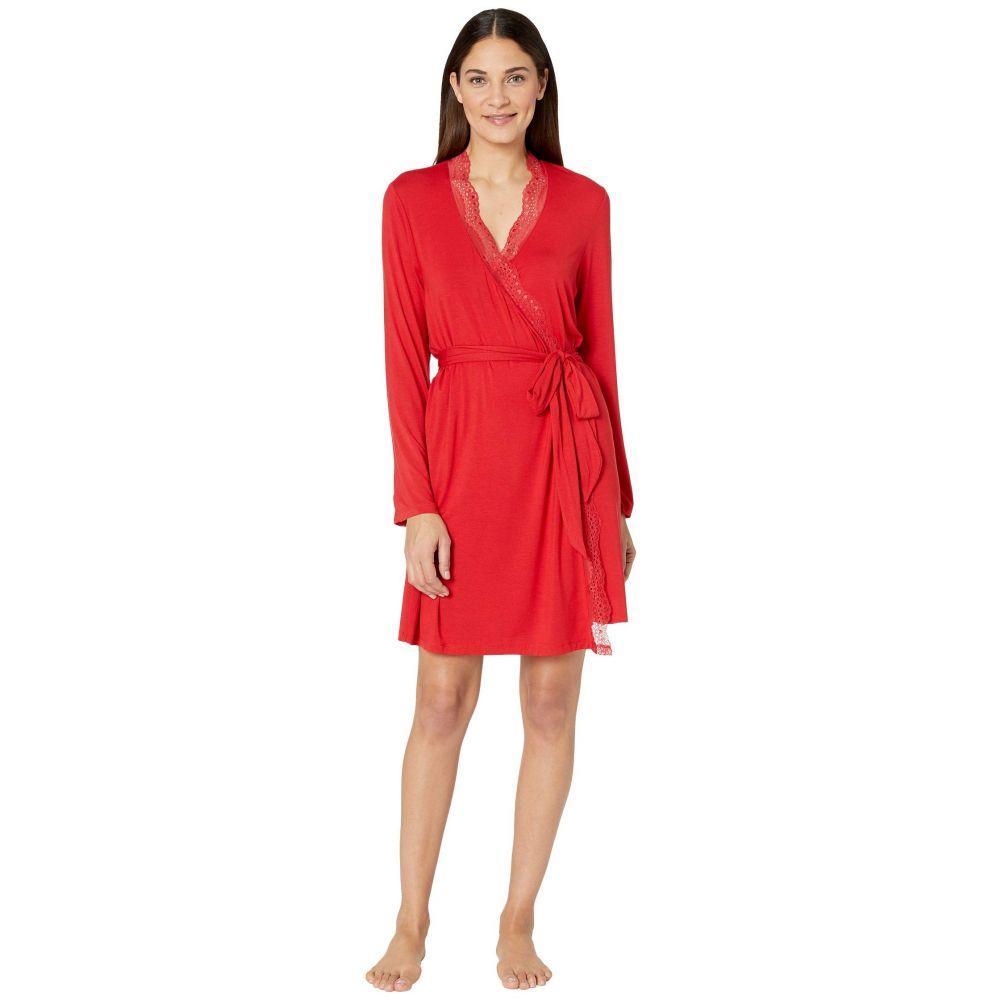 エバージェイ Eberjey レディース ガウン・バスローブ インナー・下着【Myla - The Classic Robe】Haute Red