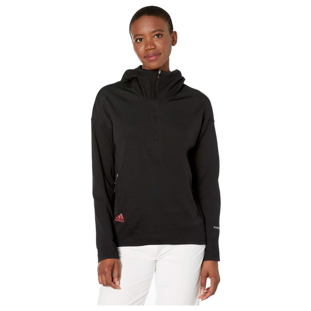 アディダス adidas Golf レディース スウェット・トレーナー トップス【Primeknit Layer Sweatshirt】Black