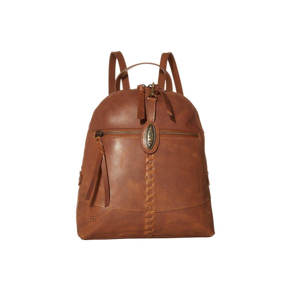 ボーン Born レディース バックパック・リュック バッグ【Balans Leather Backpack】Saddle
