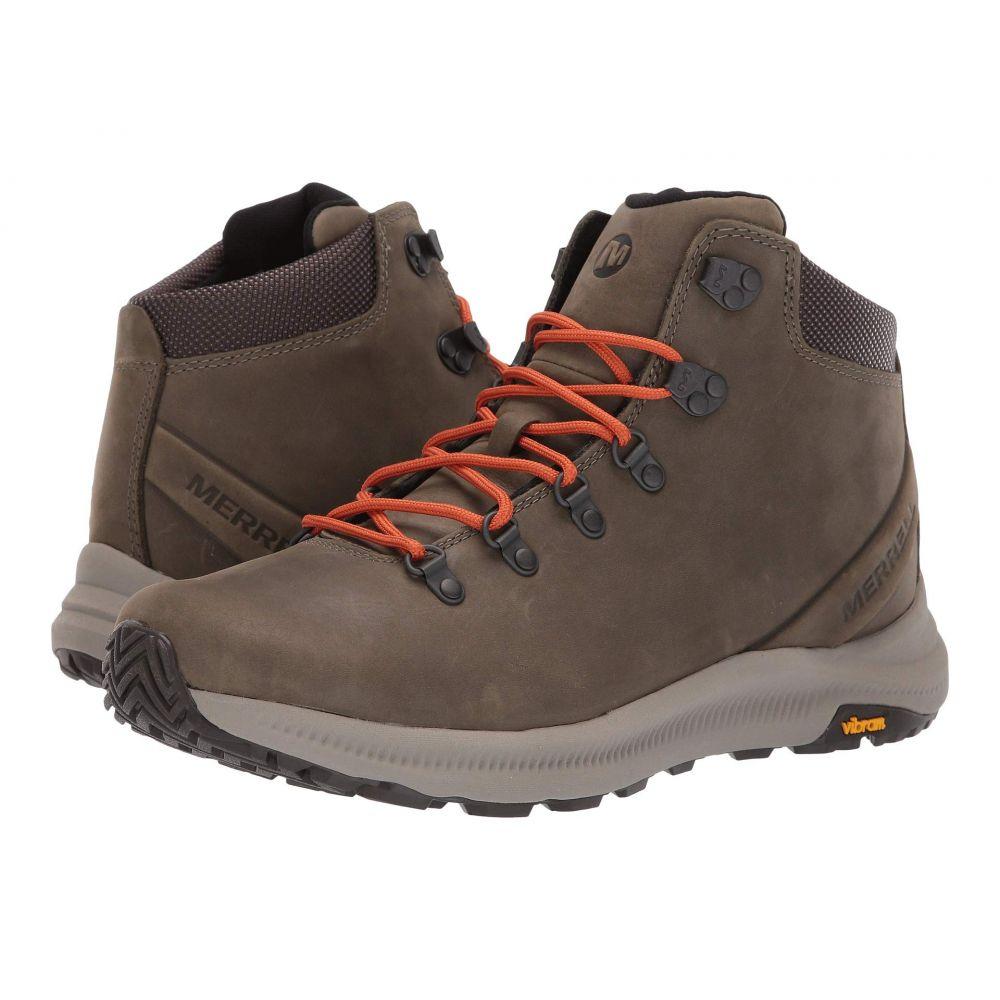 メレル Merrell メンズ ハイキング・登山 シューズ・靴【Ontario Mid】Olive
