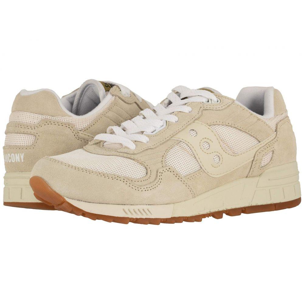 サッカニー Saucony Originals メンズ スニーカー シューズ・靴【Shadow 5000 Vintage】Tan/White