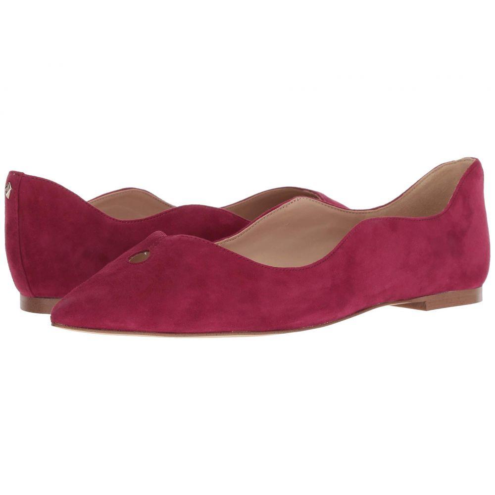 サム エデルマン Sam Edelman レディース スリッポン・フラット シューズ・靴【Rosalie】Pomegranate Pink Suede Leather