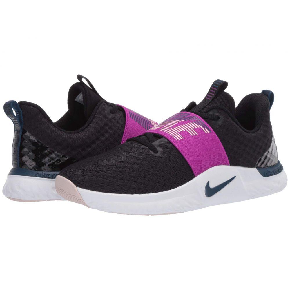 ナイキ Nike レディース スニーカー シューズ・靴【Renew In-Season TR 9】Black/Valerian Blue/Vivid Purple