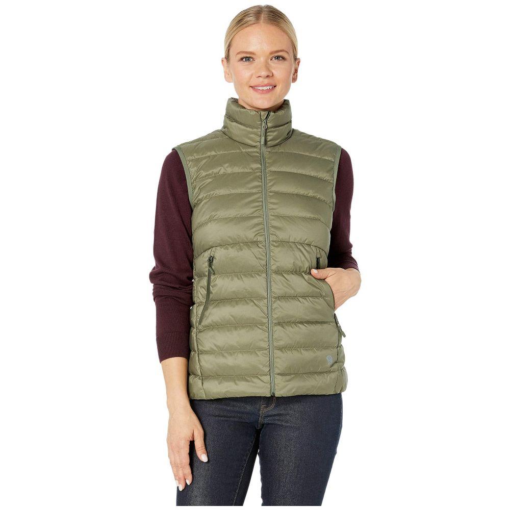 マウンテンハードウェア Mountain Hardwear レディース ベスト・ジレ トップス【Rhea Ridge Vest】Light Army
