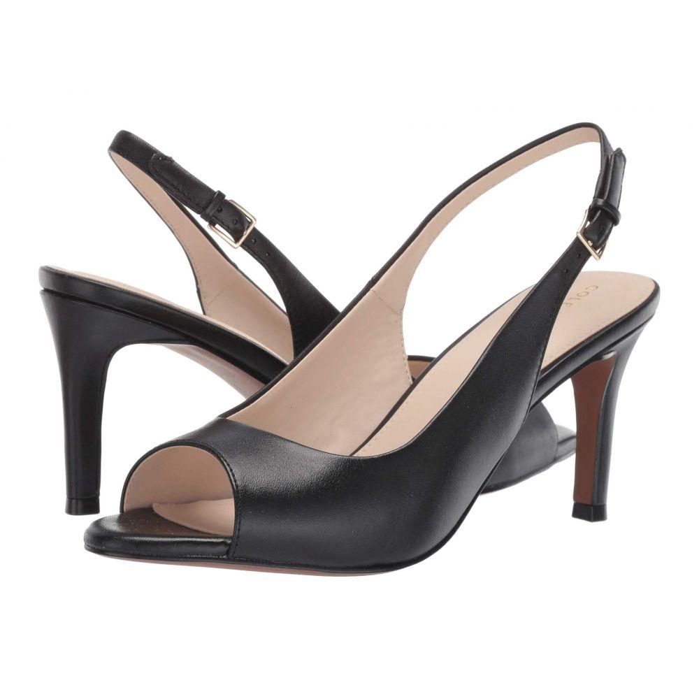 コールハーン Cole Haan レディース パンプス シューズ・靴【Maya Slingback Pump】Black Leather