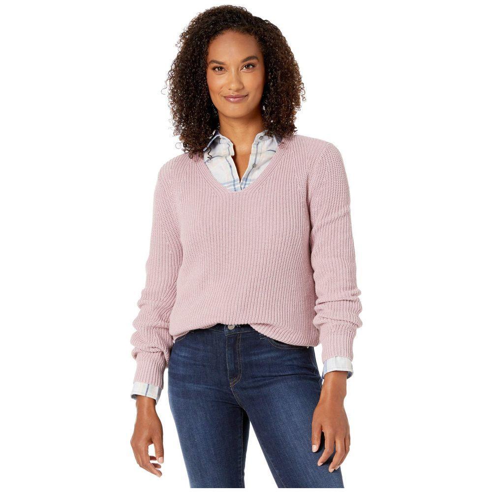 ペンドルトン Pendleton レディース ニット・セーター Vネック トップス【Emilie V-Neck Sweater】Lavender Frost