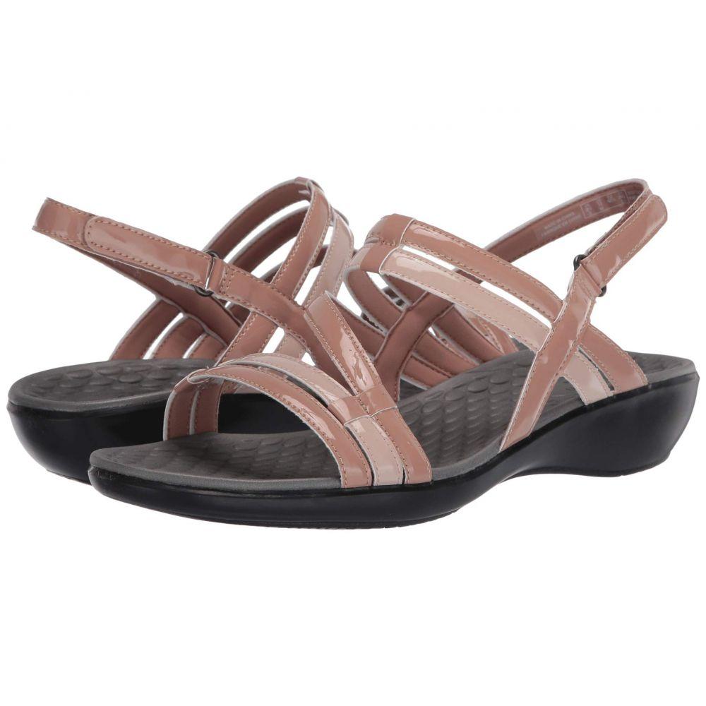 クラークス Clarks レディース サンダル・ミュール シューズ・靴【Sonar Pioneer】Praline Synthetic Combi
