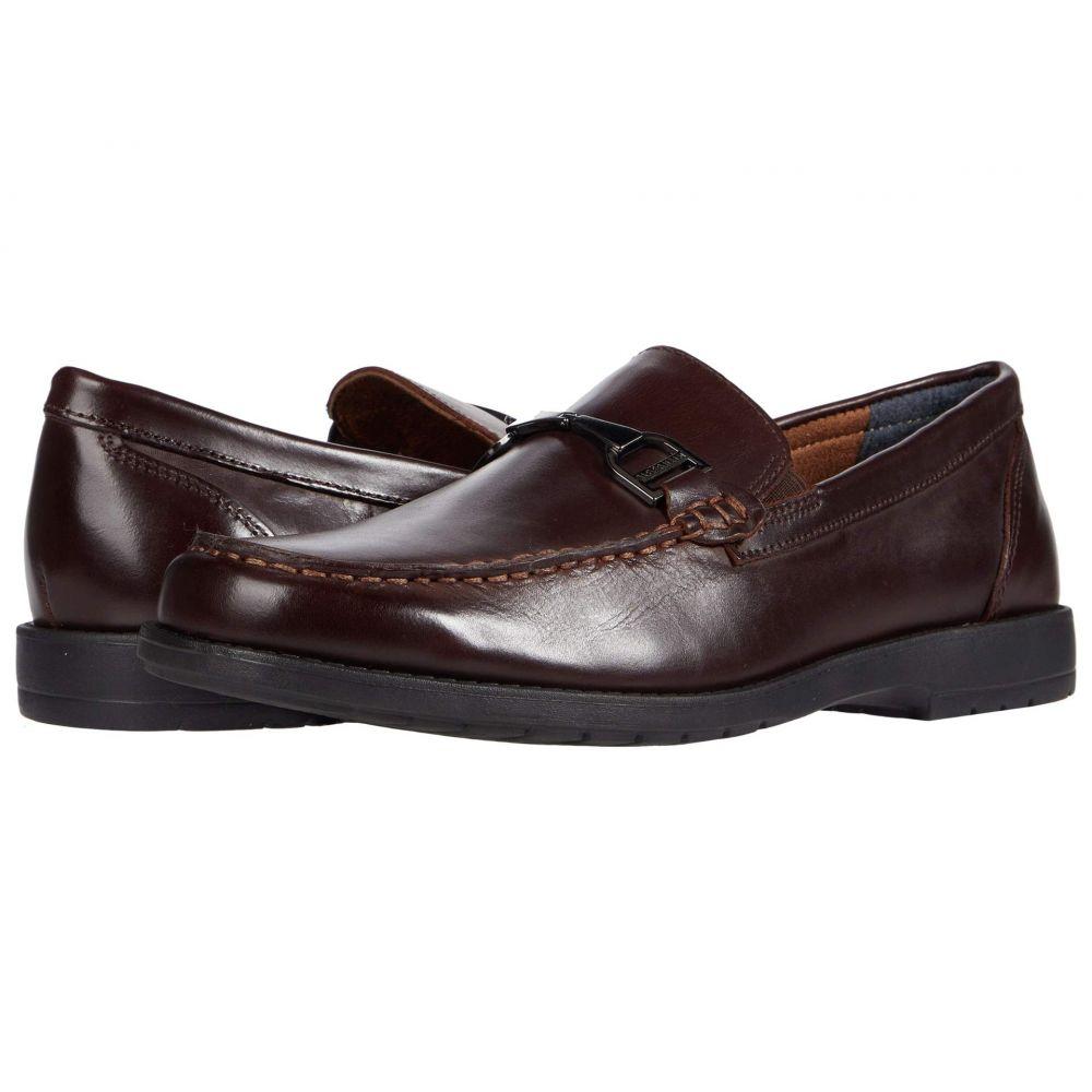 フローシャイム Florsheim メンズ ローファー シューズ・靴【Alwyn Bit Slip-On Loafer】Brown