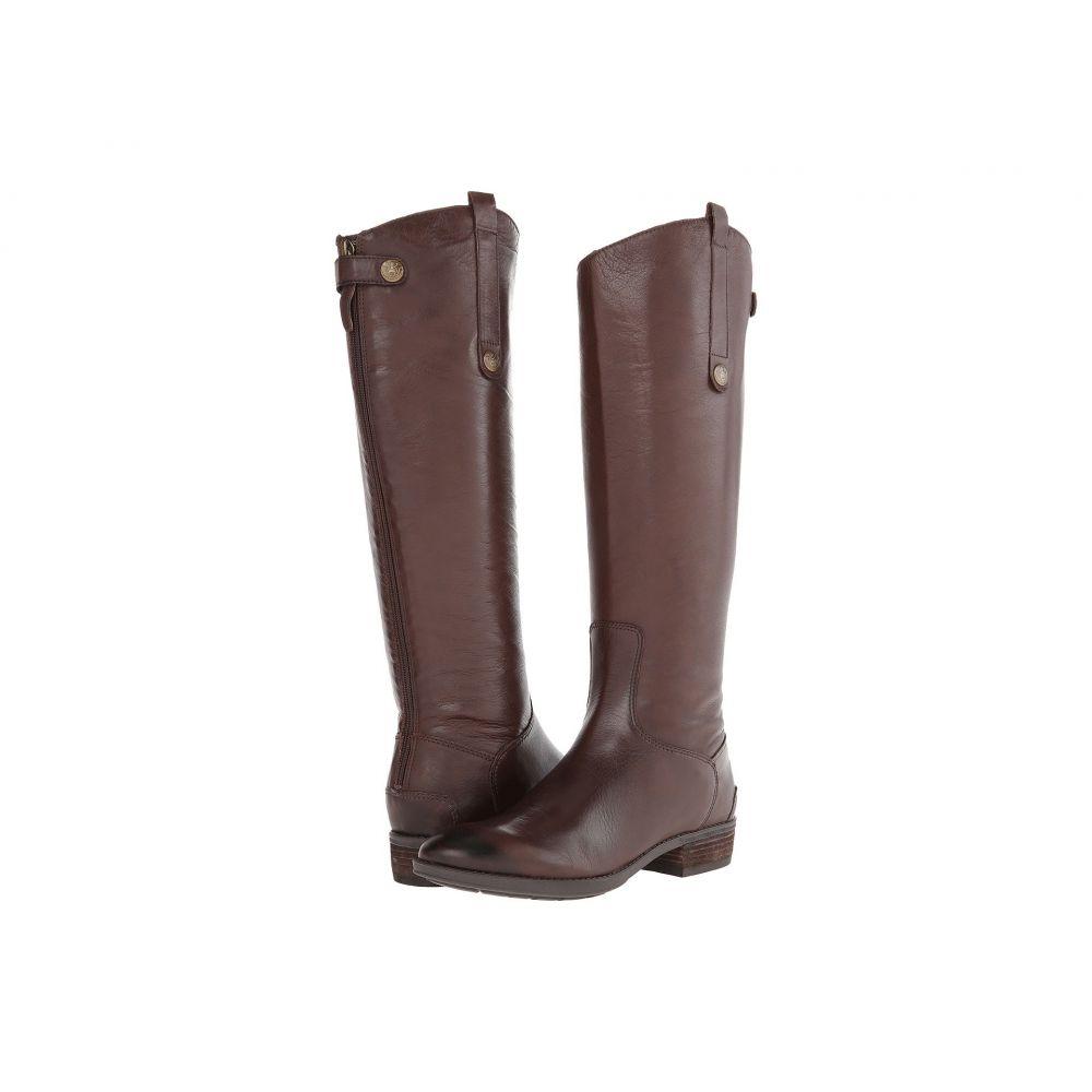 サム エデルマン Sam Edelman レディース ブーツ シューズ・靴【Penny Leather Riding Boot】Dark Brown