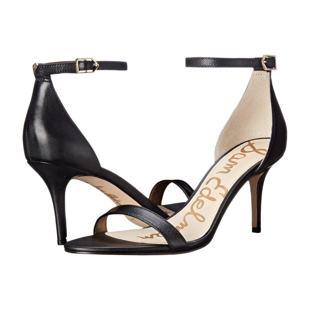 サム エデルマン Sam Edelman レディース サンダル・ミュール アンクルストラップ シューズ・靴【Patti Ankle Strap Heeled Sandal】Black Talco Leather