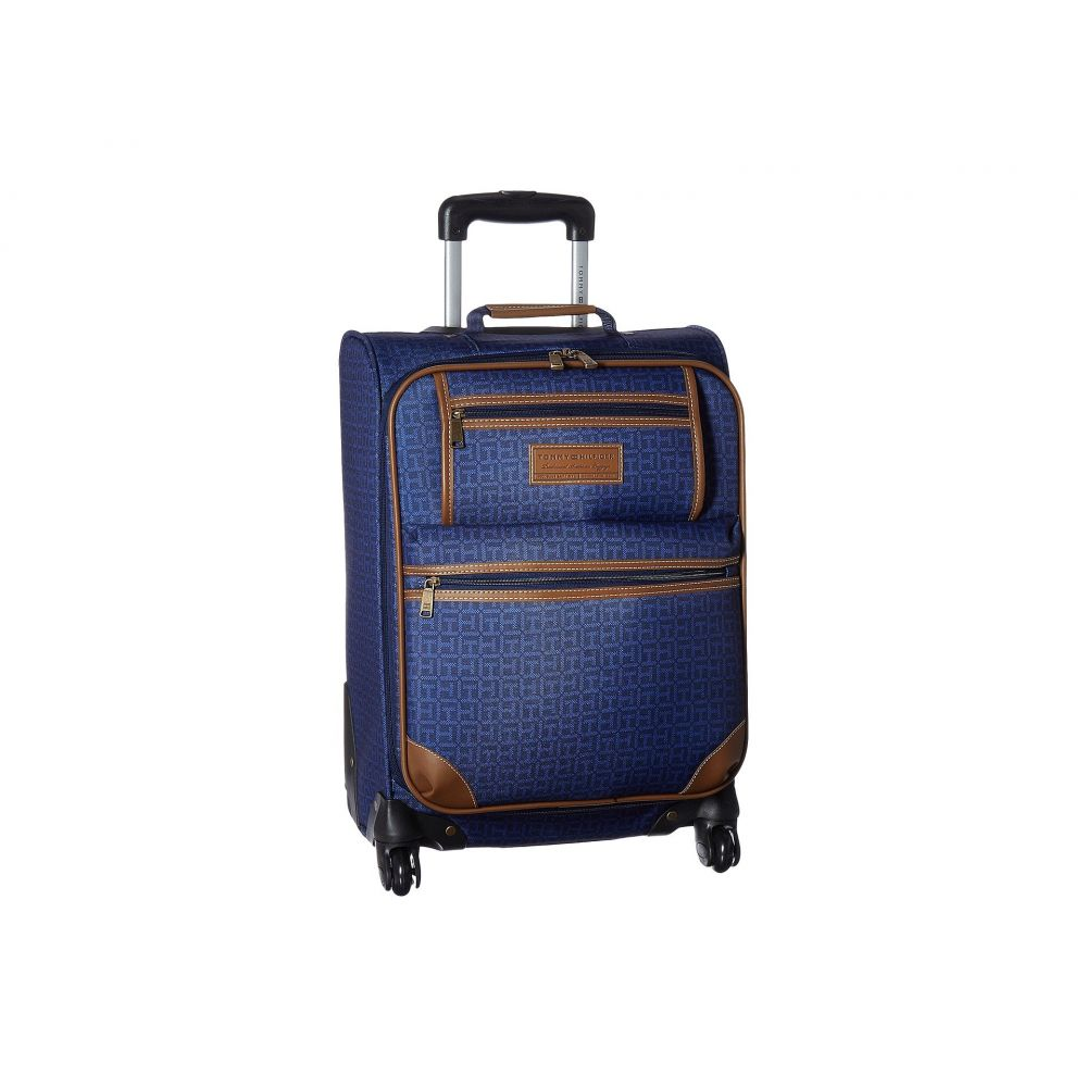 トミー ヒルフィガー Tommy Hilfiger ユニセックス スーツケース・キャリーバッグ バッグ【Signature 2.0 21 Uptright Suitcase】Navy