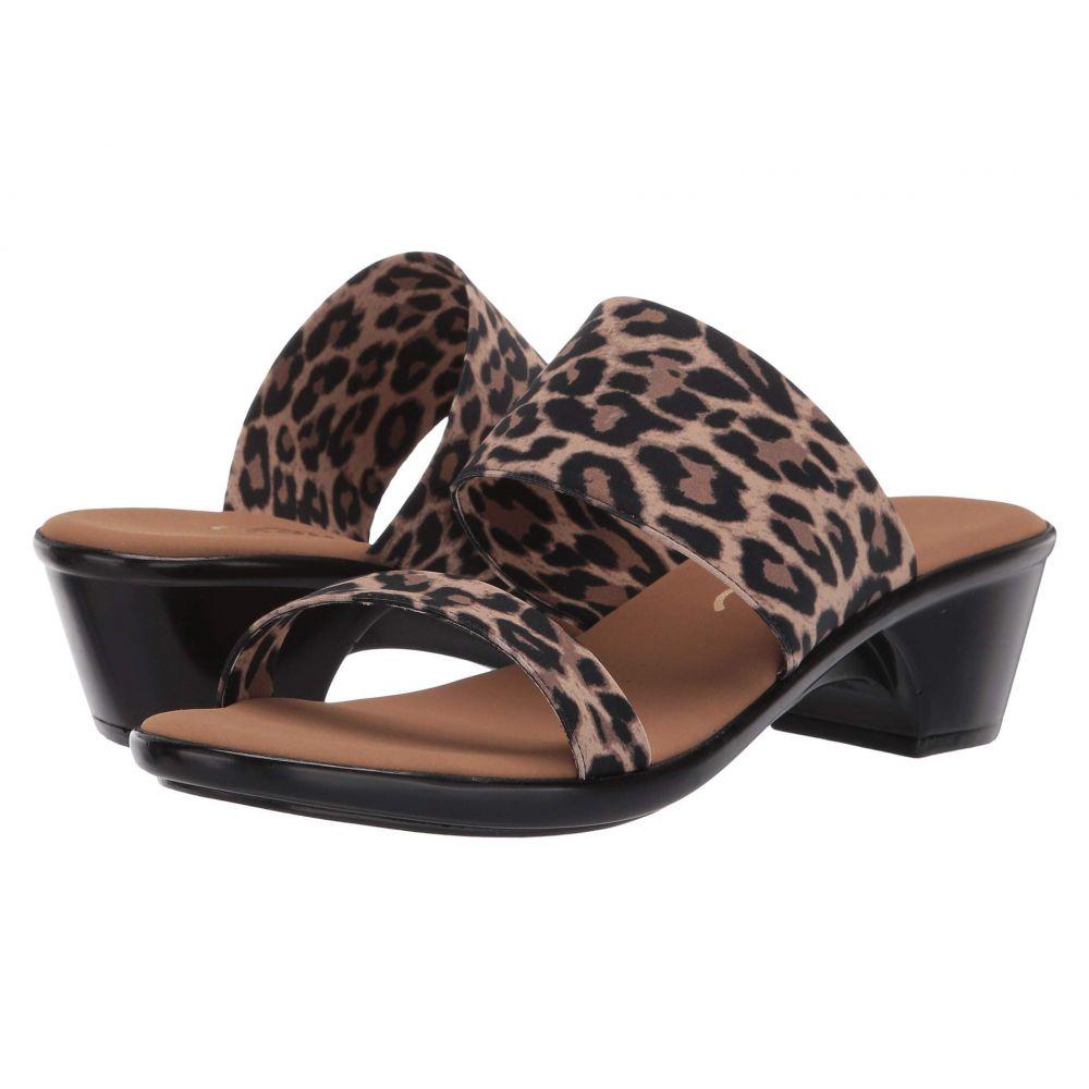 オネックス Onex レディース サンダル・ミュール シューズ・靴【Harper 2】Leopard