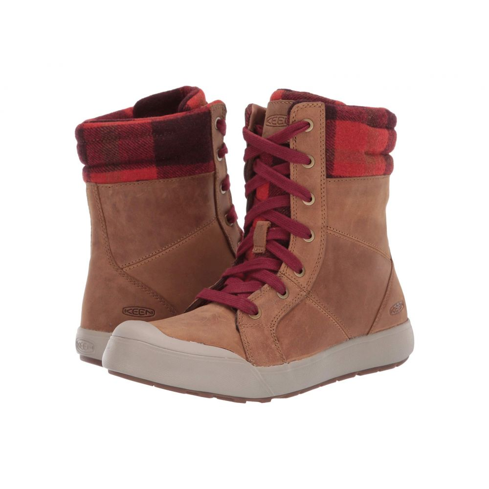 キーン Keen レディース ブーツ シューズ・靴【Elena Boot】Thrush/Plaid