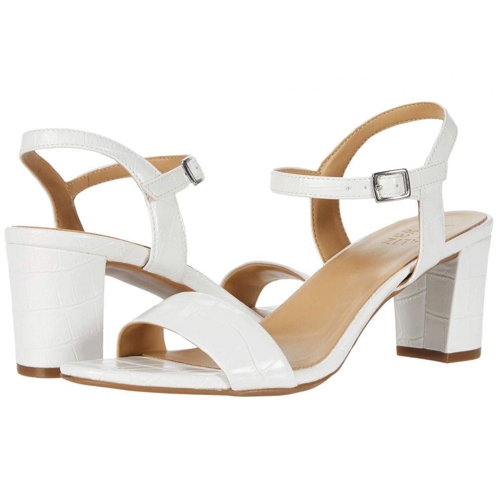 ナチュラライザー Naturalizer レディース サンダル・ミュール シューズ・靴【Bristol】White Synthetic