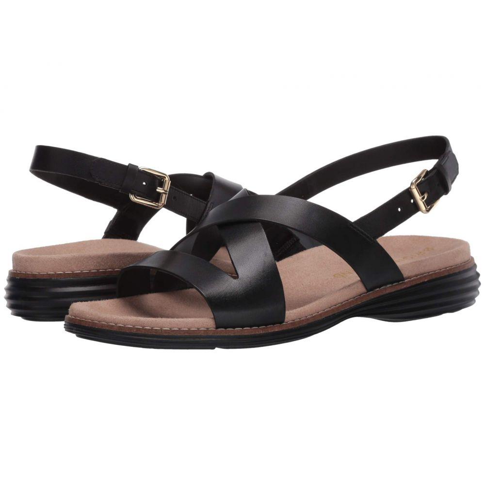 コールハーン Cole Haan レディース サンダル・ミュール シューズ・靴【Original Grand Sandal】Black Leather/Black