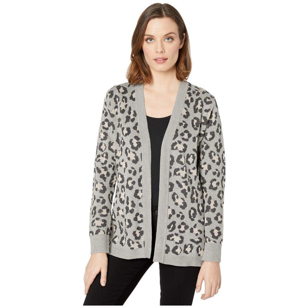 カルバンクライン Calvin Klein レディース ニット・セーター トップス【Leopard Print Knit Sweater】Khaki Multi