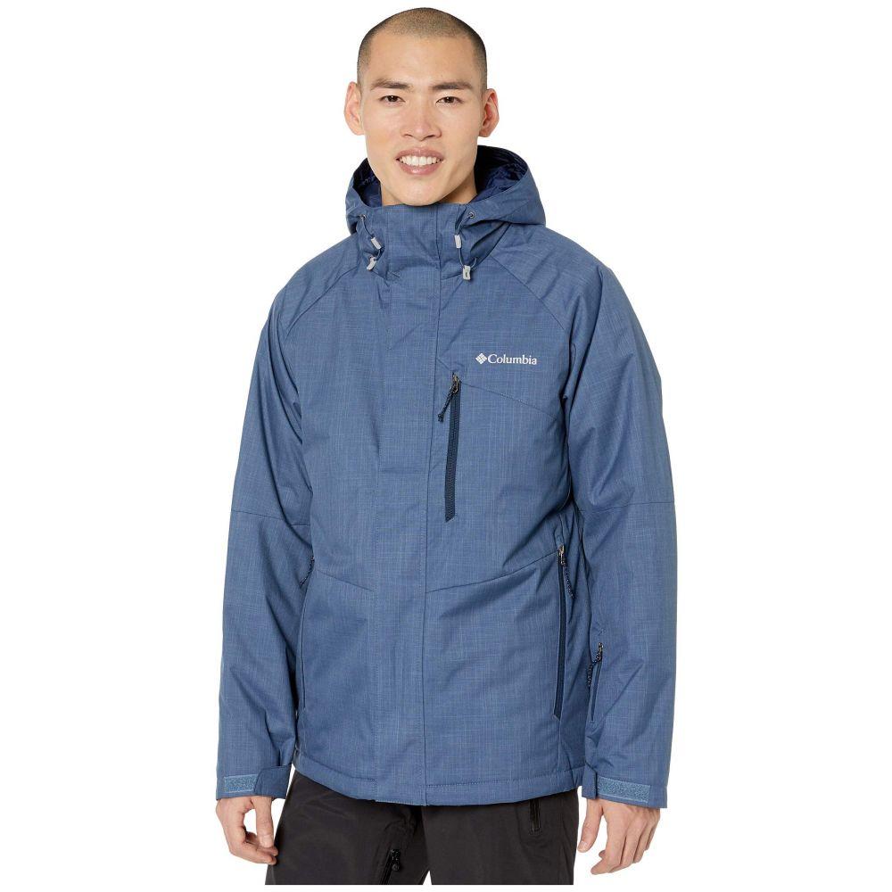 コロンビア Columbia メンズ スキー・スノーボード ジャケット アウター【Chuterunner II Jacket】Dark Mountain Heather/Collegiate Navy/Azul Zips