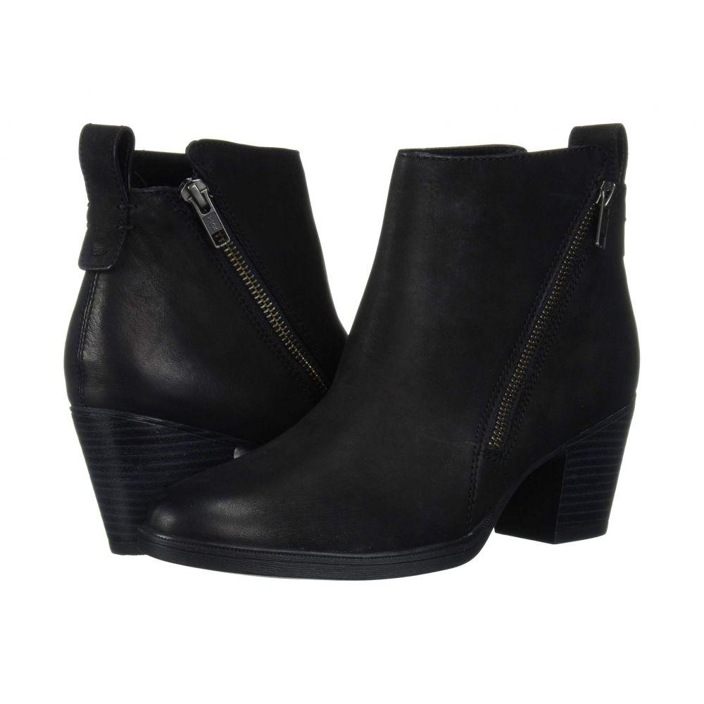 ロックポート Rockport レディース ブーツ ショートブーツ シューズ・靴【Maddie Ankle Zip Boot】Black