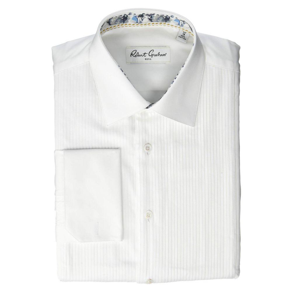 ロバートグラハム Robert Graham メンズ シャツ タキシード トップス【Frank Tuxedo Shirt】White